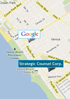Startegic Counsel Venice Map